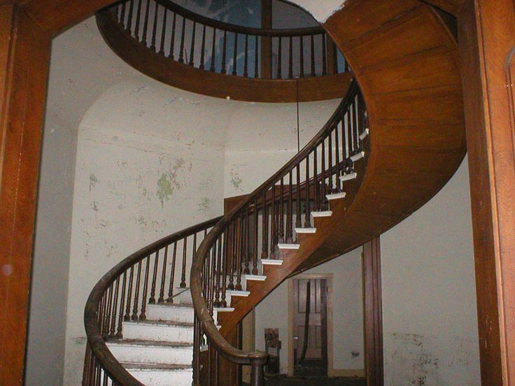 Staircas Interiors Staircases Abandoned Home House