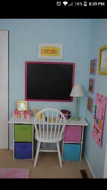 ... | Dream Home 4(Kid's Room) | Pinterest | Kid Desk, Desks and Kid