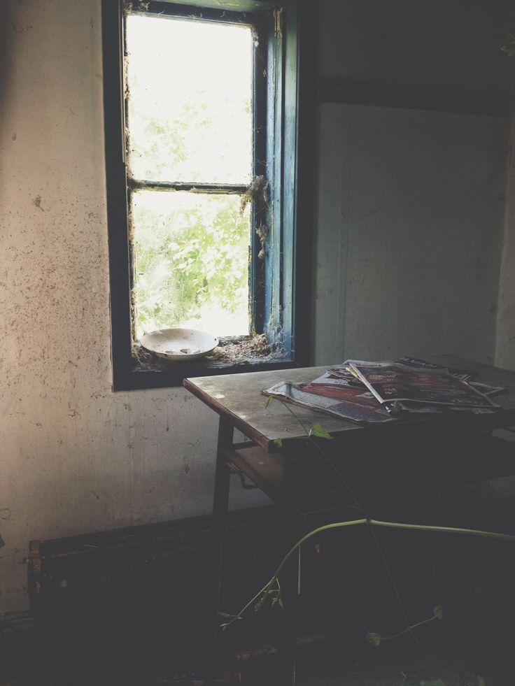 Abandoned workspace.