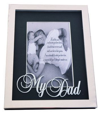Word designer frame - My Dad 6 x 4 – Purple Clover Photo Frames and Giftware