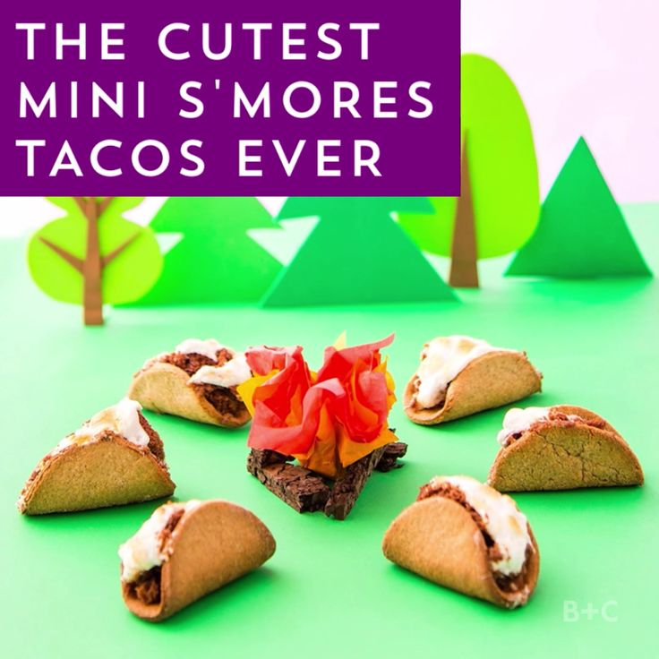 Get creative in the kitchen with this Mini S'mores Tacos video recipe DIY tutorial.
