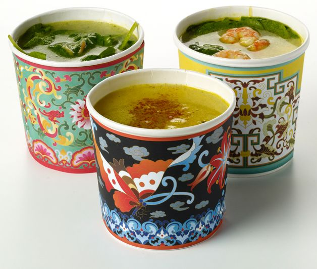 Chinese inspired summer soups | design by Thirdperson http://www.thirdperson.co.uk/work/discipline/campaign/nusa-test.html