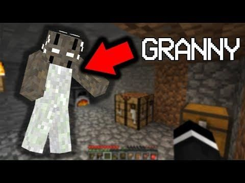 Exploring The Granny exe Seed In Minecraft    (Scary
