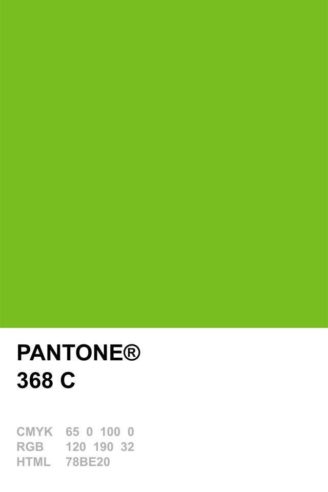 Pantone 368 C Pantone Colour Recipes Pinterest Pantone
