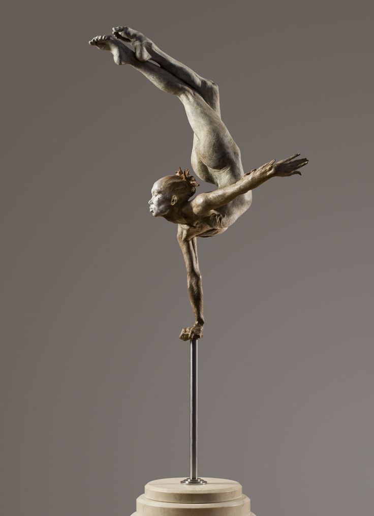 o_flier #sculpture by Richard MacDonald