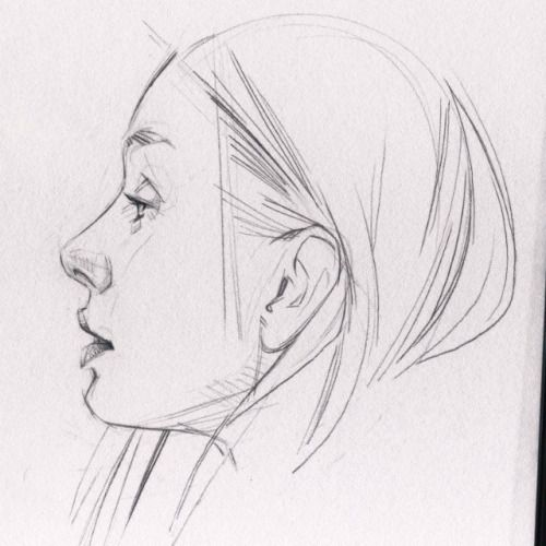 Profile #sketchbook #drawing