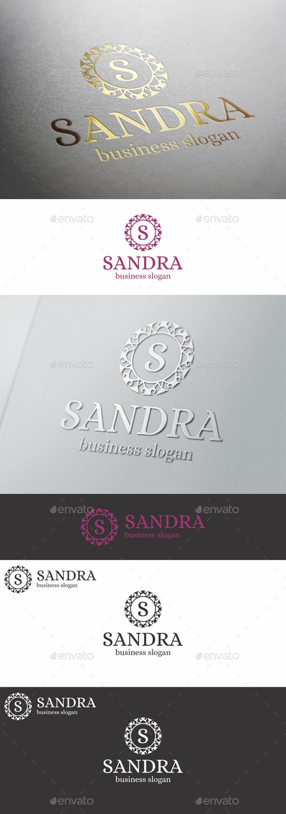 Boutique Badge Logo Emblem  Sandra — Vector EPS #ornament #vintage • Available here → https://graphicriver.net/item/boutique-badge-logo-emblem-sandra/13080987?ref=pxcr