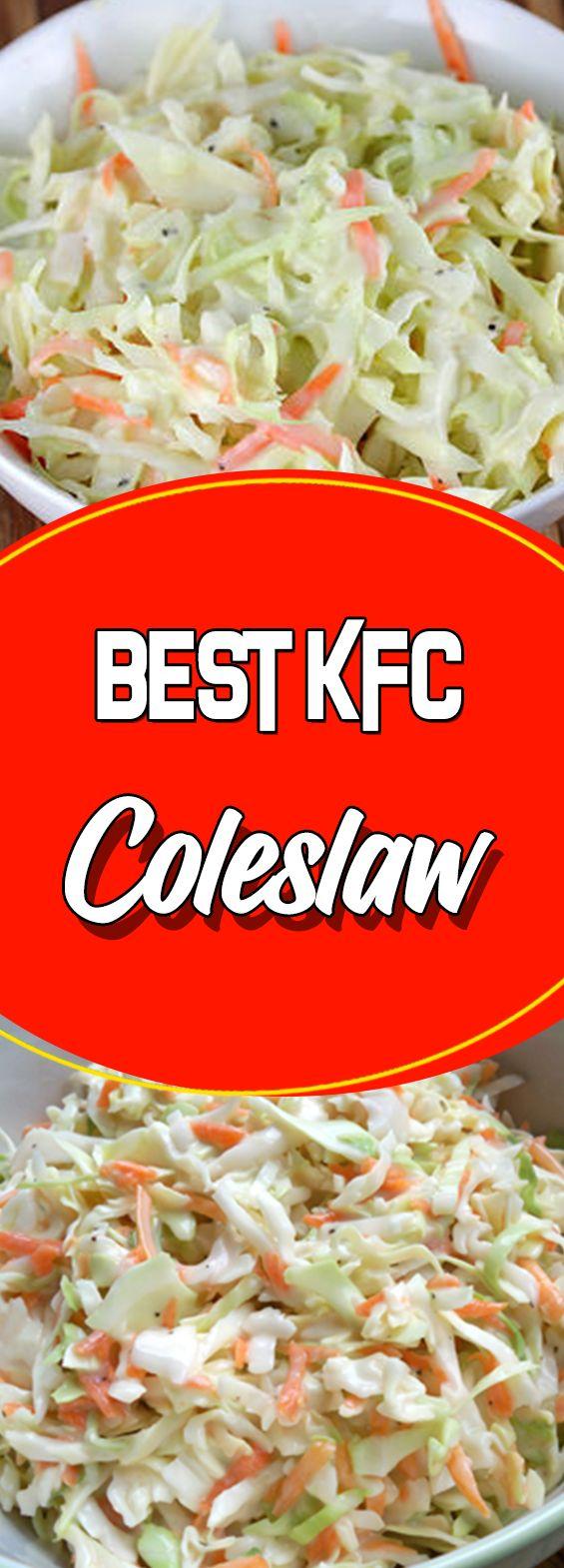Best KFC Coleslaw #healthyrecipes #cookinglight #recipe #comfortfood #paleo #glutenfree