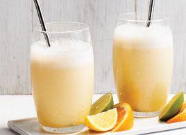 Smoothie amandes et oranges   Recettes   Mon assiette   Plaisirs Santé