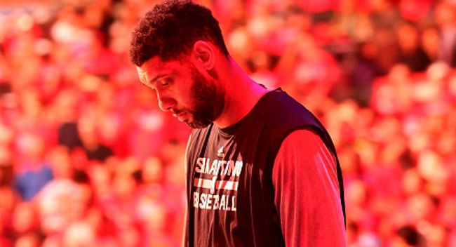 The Spurs paid tribute to the greatest power forward of all time on the night of Tim Duncan's jersey retirement.