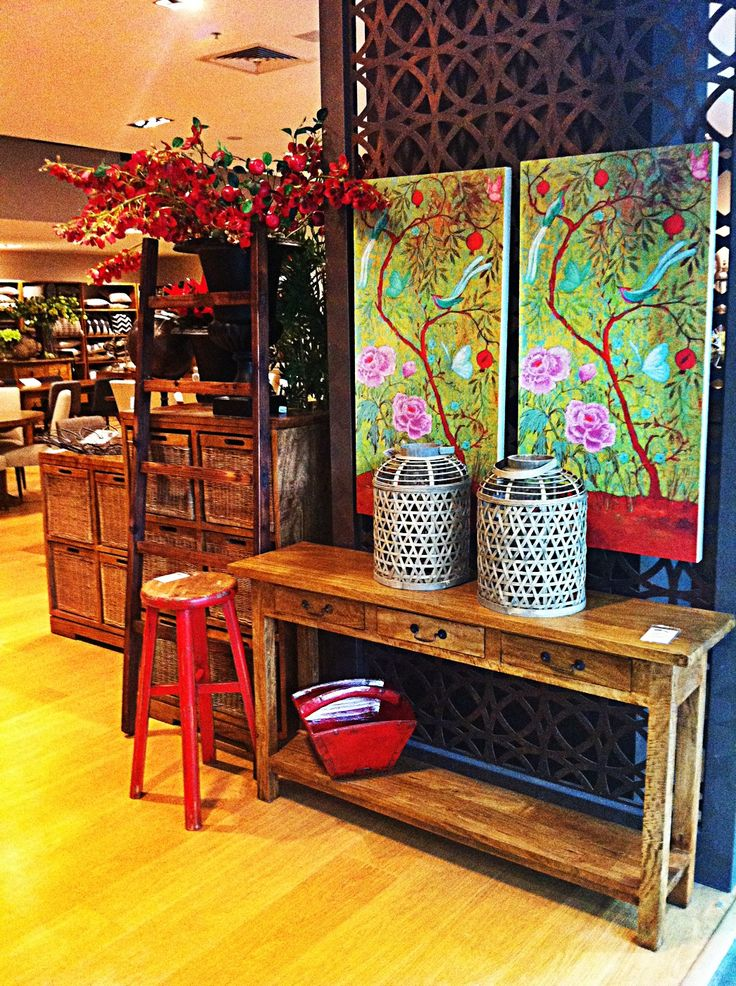 Asian inspiration, soft pretty colours.