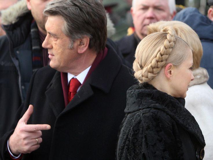 Unloved But Unbowed, Ukraine's Viktor Yushchenko Leaves Office