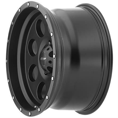 Series 5045 Proxy 17x9 with 8 on 6.5 Bolt Pattern 4.75 Backspace Satin Black Finish Pro Comp Alloy Wheels