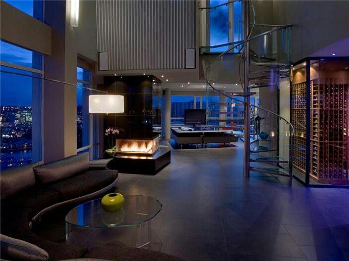 110 best bachelor pads images on pinterest home ideas - Incroyable loft m vancouver feenstra ...