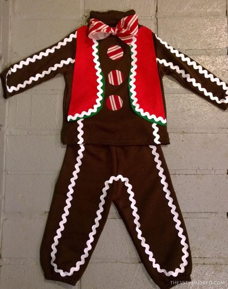 DIY Gingerbread Man Costume