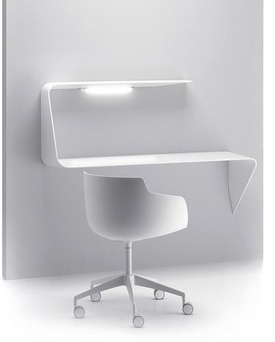 MAMBA - shelf and desk in white | desk . Schreibtisch . bureau | Design: Victor Vasilev |