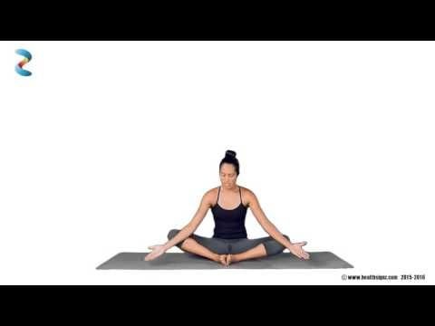 Yoga For PCOS - Classic Butterfly Pose