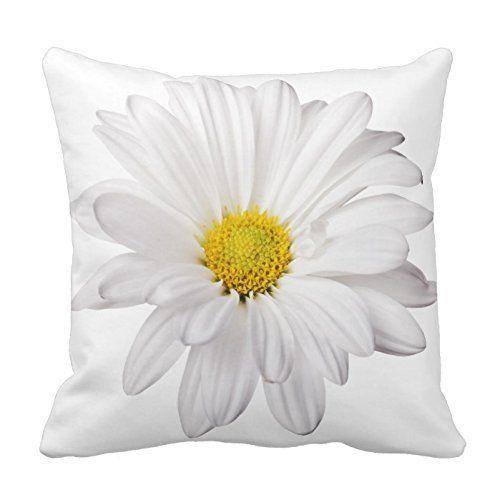 White Daisy Flower with Bright Yellow Heart Pillows Decor... https://www.amazon.com/dp/B014BIPKK6/ref=cm_sw_r_pi_dp_x_4Z4FybCWESA3W