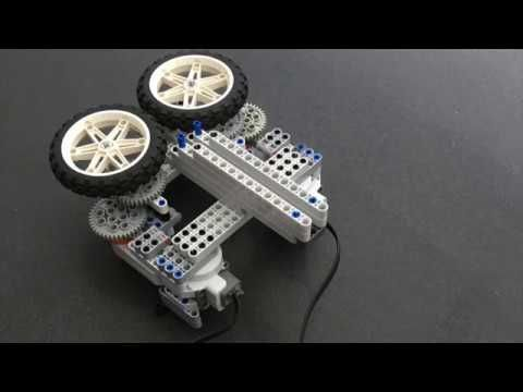 Lego Nxt paper airplane launcher - YouTube