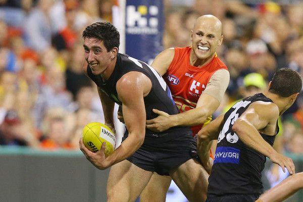 AFL Rd 3 - Gold Coast v Carlton http://footyboys.com
