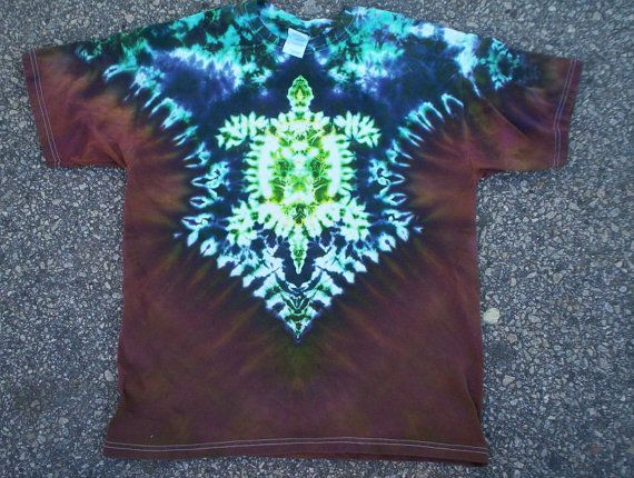 Turtle of Earth Tie Dye Size 5XL by tiedyetodd on Etsy, $30.00