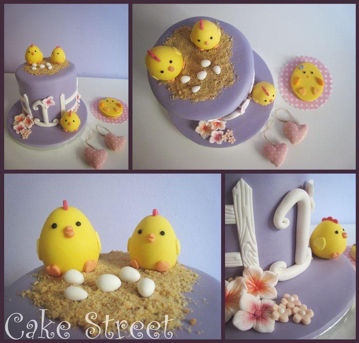 Chicken Chic Cake!