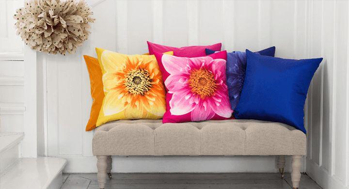 Las 25 mejores ideas sobre como hacer cojines decorativos en pinterest cojines decorativos - Hacer cojines para sofa ...