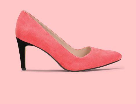 Women's Coral pointed toe high heels - Dalhart Sorbet   Clarks.eu