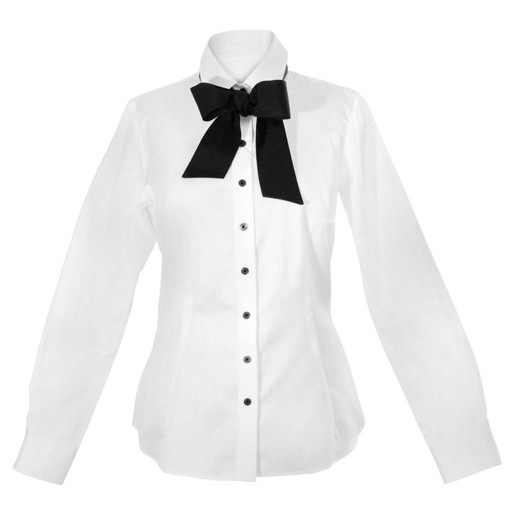 A little, ladylike bow adds tons of flair to this quality cotton workshirt, softening the crisp collar and cuffs. The shirttail hem is equally stylish tucked, belted or untucked. http://www.byariane.com.au/Louka-Short