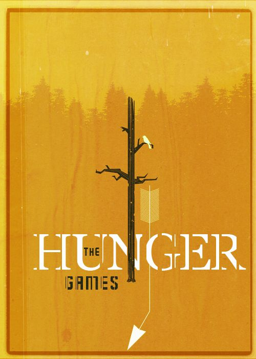 Very cool poster for a very good book -- The Hunger Games