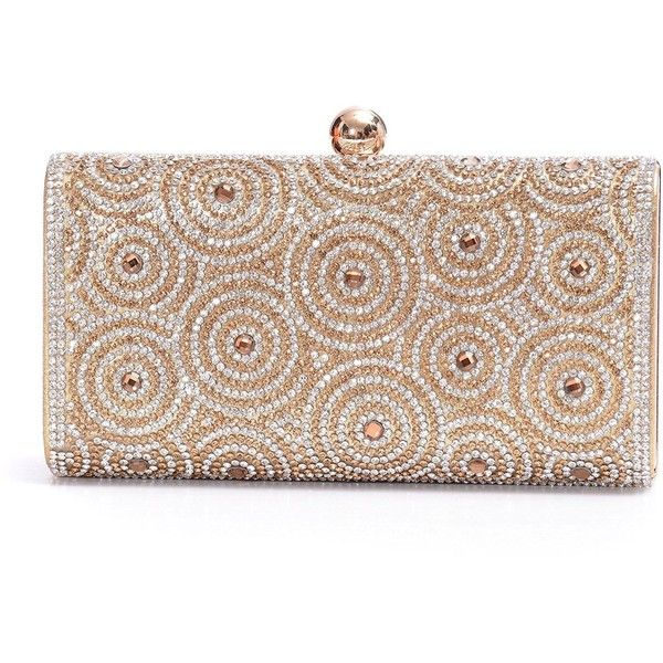 Womens Evening Clutch Bag Wedding Purse Bridal Prom Handbag Party Bag... ($19) ❤ liked on Polyvore featuring bags, handbags, clutches, bolsas, bolsos, purses, bridal clutches, special occasion clutches, evening hand bags and silver handbags