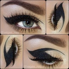 Cat Eye - My favourite will probably use for my cat woman costume :)