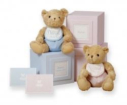 Susan Elizabeth personalised keepsake bears..exclusive to Babygifts.ie