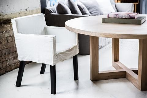 MCM House's Round Dining Table range are constructed from solid timber for its unique character and feel. The tables are available in raw timber or with a natural and durable seal. Our Tables are often used in offices as large meeting tables.