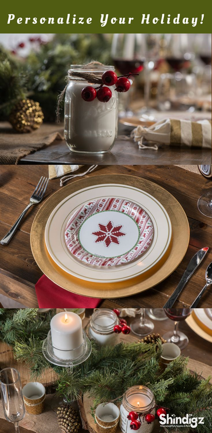 From personalized Christmas banners to festive tableware the perfect Christmas party starts with the right & 60 best Christmas Party images on Pinterest | Christmas parties ...