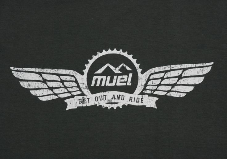 Best selling bike t shirt design inspired by the freedom that riding brings - get out and ride! http://muel.co.uk/products/wingstee-charcoal/