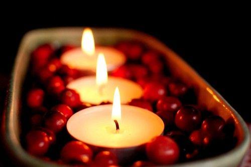 .: Rose Gardens, Plastic Cups, Candles Centerpieces, Teas Lights, Winter Centerpieces, Christmas Candles, Vintage Rose,  Wax Lights, Cranberries
