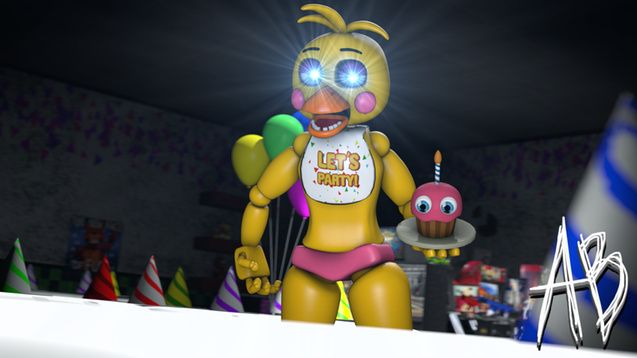 Steam Workshop :: [FNaF 2] Toy Chica | Toy Chica and ...