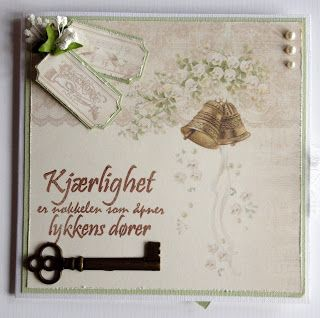 Kirstens Hobbyblogg: Brylluppskort