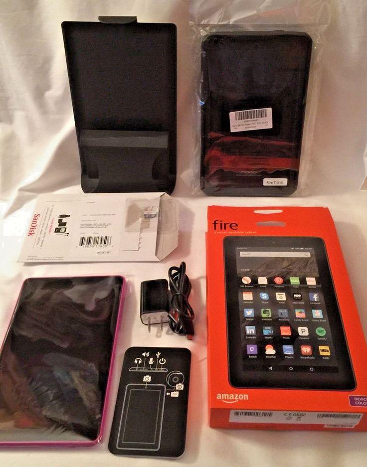 Amazon kindle fire 5th gen 7 tablet 8 gb magenta moko