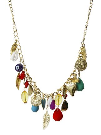 Galz4evr Multicoloured Embellished Necklace Online, , LimeRoad. Rs299