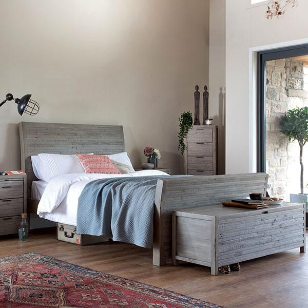 Dulwich Reclaimed Wood Bed In 2020 Reclaimed Wood Beds Blanket Box Wood Beds