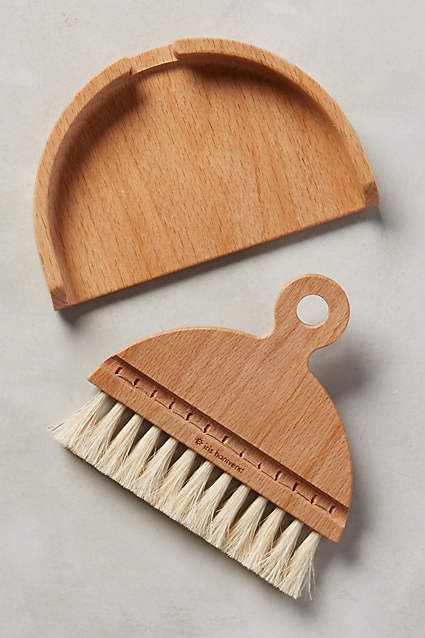 Birger Table Brush - anthropologie.com