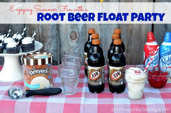 Enjoy Summer Fun With An A Root Beer Float Party #IceCreamFloat #Shop #CBias