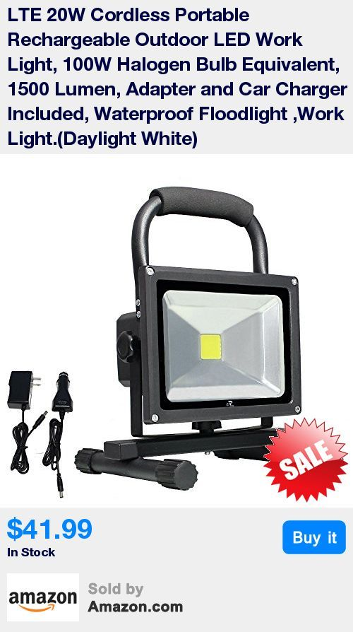 The cordless portable rechargeable work light, it works anywhere. offer a bright daylight. * Rechargeable work light is equipped with universal power(100-240VAC) or car power(12-24V DC) . * Energy saving, Replace 100W halogen bulb to achieve the same lighting. Save 80% on electricity bill . * This portable work light is great for outdoor/indoor use,such as Work lighting, emergency illumination, outdoor/indoor activities. It is a good partner for your night driving, especially helpful when th