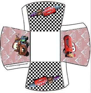 Carros - Kit Completo com molduras para convites, rótulos para guloseimas, lembrancinhas e imagens! - Fazendo a Nossa Festa