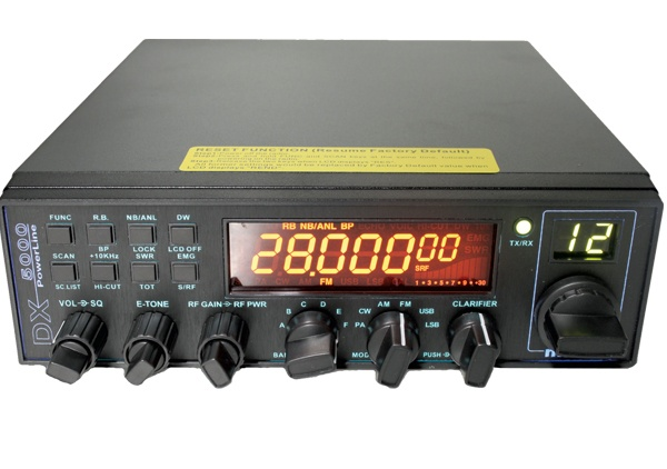 K-PO DX-5000 CB Radio From The CB Shack