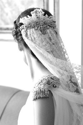 Vintage veil Check out my Vintage Inspired Wedding blog at www.froufroulebleu.com