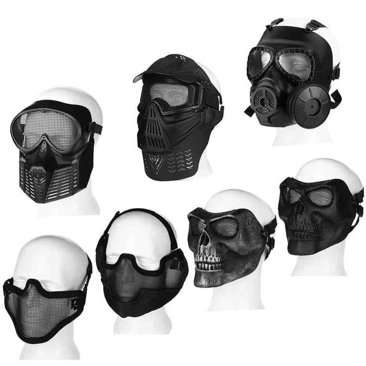 Full Face Paintball Mask Paintball mask, Paintball, Airsoft