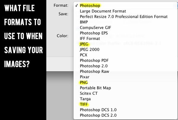 The Guide To File Formats: How You Should Save Your Images